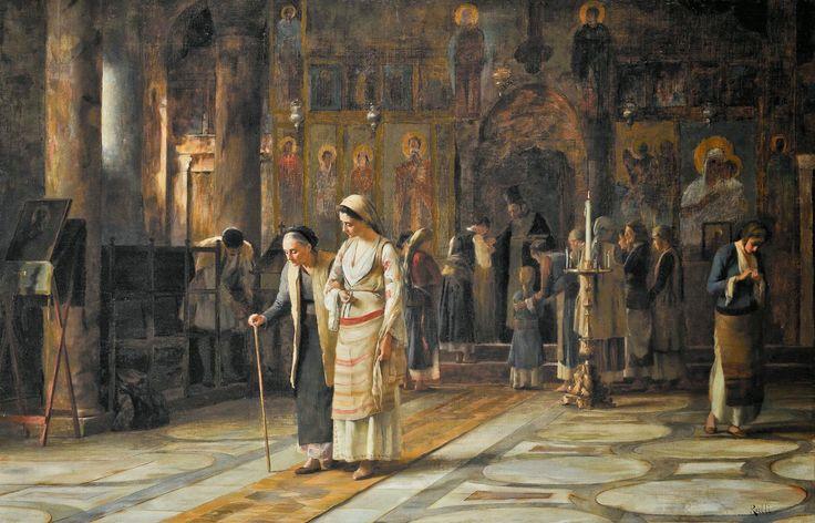 Θεόδωρος Ράλλης (1852-1909), Μετά την Θεία Λειτουργία