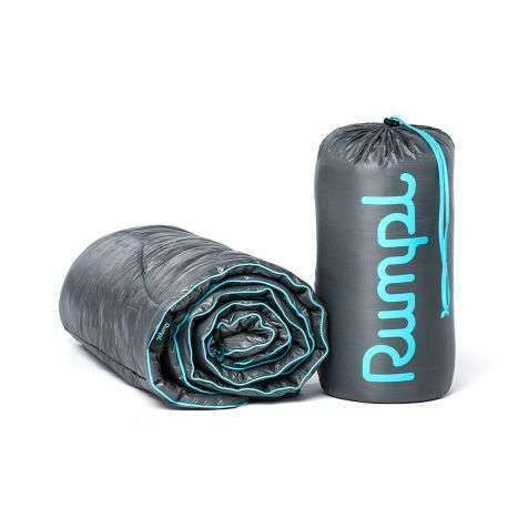 Rumpl puffy blankets.