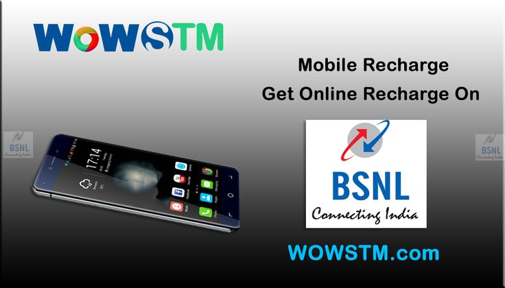 BSNL Connecting India!! Do online recharge from Wowstm.com. It's faster & does not cause any issue regarding payments. #bsnlrecharge, #onlinerecharge, #mobilerecharge, #phonerecharge, #datacardrecharge