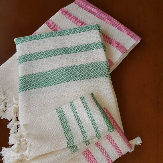 Check out this item in my Etsy shop https://www.etsy.com/listing/476112903/bath-towels-set-set-off-2-pcs-green-and