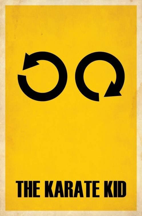 Wax on, Wax offMinimalist Movie Posters, Posters Design, Minimal Poster, Kids Movie, Minimalist Poster, Film Posters, Vintage Movie, The Karate Kids, Minimal Movie Posters