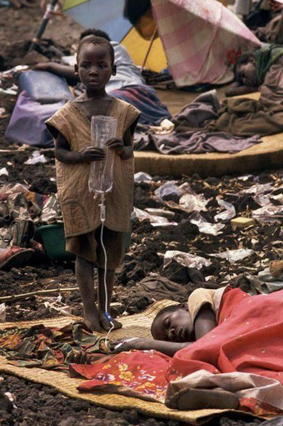 Africa, tragic beyond belief.