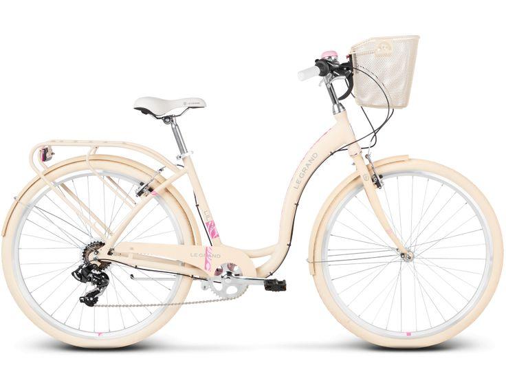 Rower Kross Le Grand LILLE 4 kremowy 2017 | Internetowy sklep rowerowy Sporti