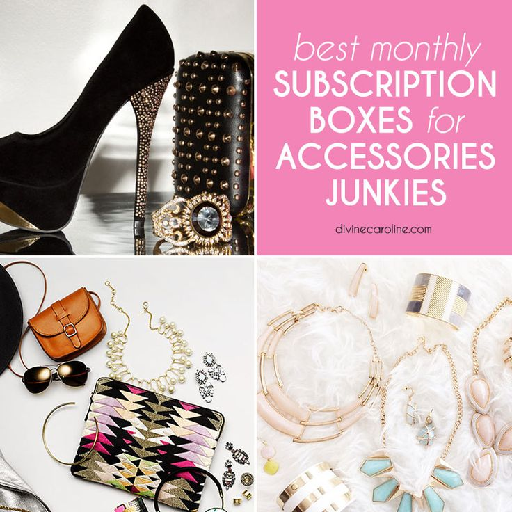 We've gathered our 10 favorite monthly subscription boxes for the girl who needs a little more bling in her life. #divinecaroline #jewelry