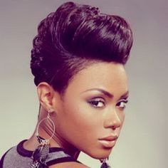 Short Hairstyles For Black Women With Weave