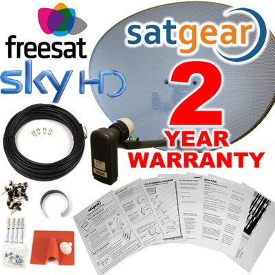 Satgear Sky/Freesat Zone 2 60cm HD Satellite Dish Kit with Brackets, Quad LNB, 10m Twin Cable, Fixings- Everything You Need + An Exclusive 2 Year Sategar Warranty has been published at http://www.discounted-home-cinema-tv-video.co.uk/satgear-skyfreesat-zone-2-60cm-hd-satellite-dish-kit-with-brackets-quad-lnb-10m-twin-cable-fixings-everything-you-need-an-exclusive-2-year-sategar-warranty/