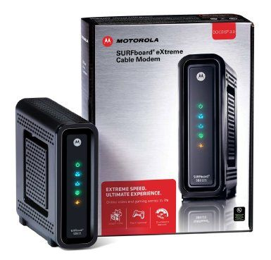 Amazon.com: Arris / Motorola SB6121 SURFboard DOCSIS 3.0 Cable Modem - Retail Packaging: Electronics