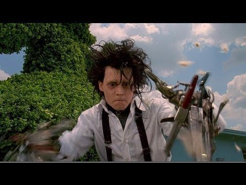 Edward Scissorhands (1990) - One of my top 3 Tim Burton movies and a sweet, moving and sad fairytale