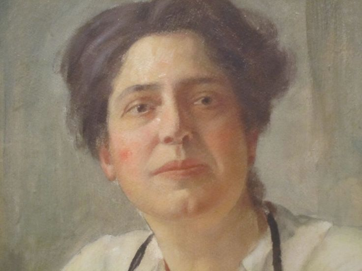 Community health nursing pioneer Lillian Wald, detail from portrait by William Valentine Schevill at National Portrait Gallery in Washington D.C., from https://en.m.wikipedia.org/wiki/Lillian_Wald