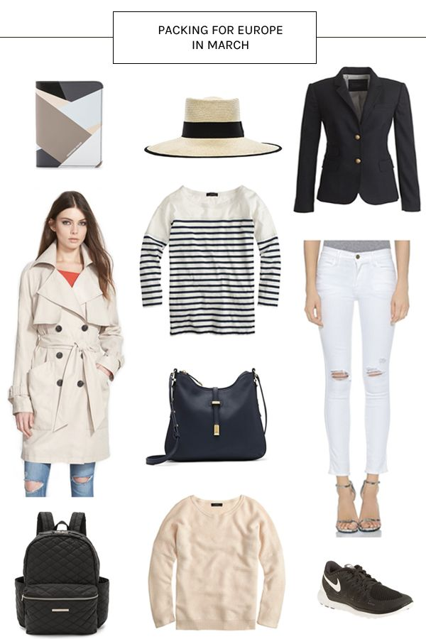 What To Pack For Europe In March