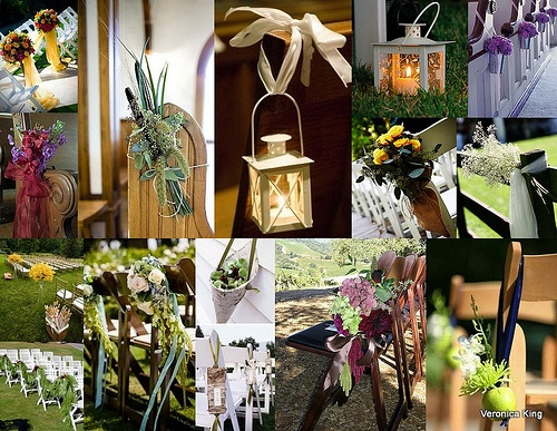 PEW MARKER INSPIRATIONS by CALGARY WEDDING ASSISTANT, via Flickr