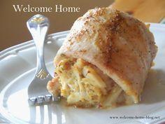 Welcome Home Blog: Crab Stuffed Rockfish