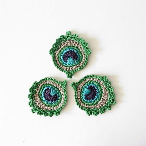 316 best crochet appliques. images on Pinterest   Apliques de ...