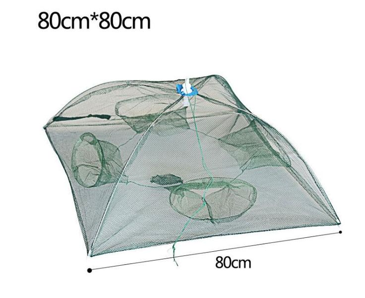 Agepoch Fishing Landing Net Large Fishing Net for Sale nylon networking Fish Net Shrimp Crab Fish