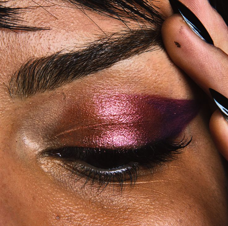 Cranberry Metallic Shadow, punk rock Jeremy Scott 2014