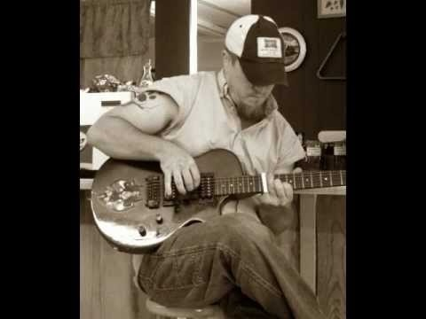 Iron Mike Norton - Native Stepson Lesson on a slide guitar. Find him on facebook!