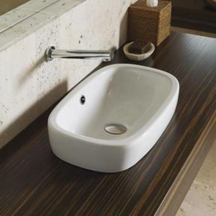 Regent Inset Vanity Basin - I have also pinned this as semi recessed. $316.10