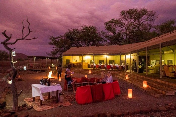 Atelier Africa's Timo and his partner recently explored Namibia with us. Here are a few of his Desert Rhino Camp highlights...