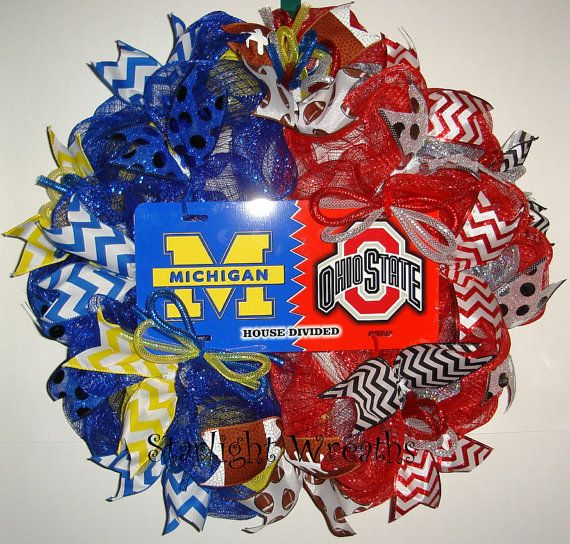 Hey, I found this really awesome Etsy listing at https://www.etsy.com/listing/214079863/michigan-vs-ohio-state-house-divided