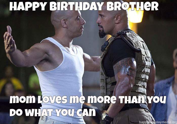 50 Funniest Happy Birthday Brother Meme Birthday Meme Birthday Wishes For Brother Happy Birthday Brother Wishes For Brother