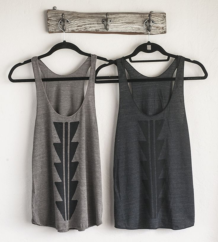Arrowhead Tank Top   Spread a little geometric joy with this handsome tank top. It'...   Camisoles & Tank Tops