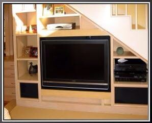 1000 images about interior design on pinterest tv unit for Tv showcase designs under staircase