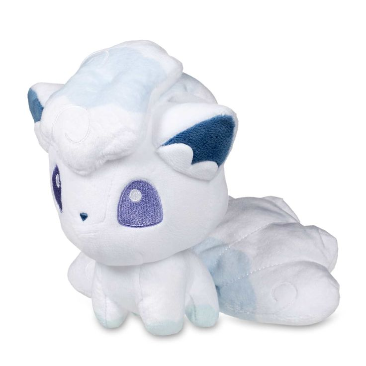 "Image for Alolan Vulpix Pokémon Dolls Plush - 6"" from Pokemon Center"