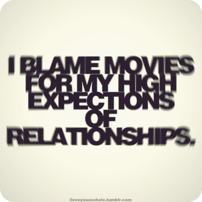 Relationships expectations (not expections)