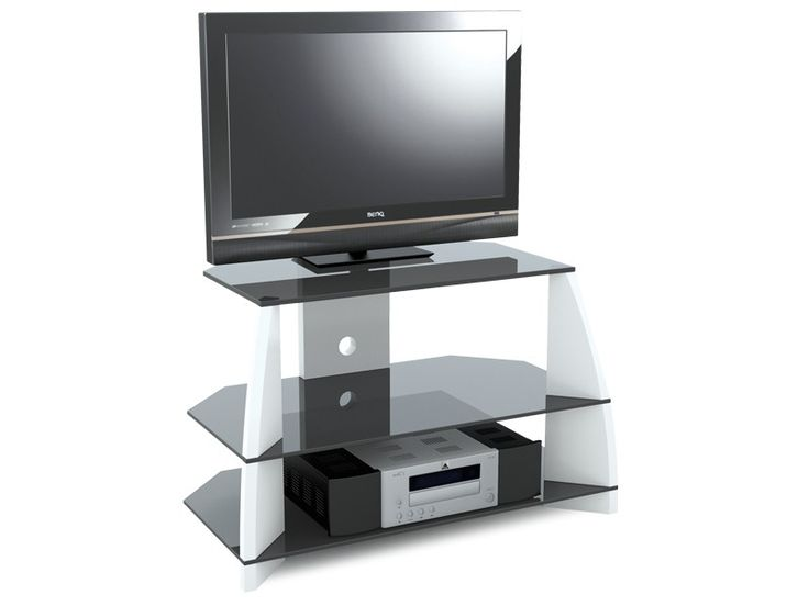 Stil Stand Gloss White Wooden TV Up To 32 STUK2040 WH Suits