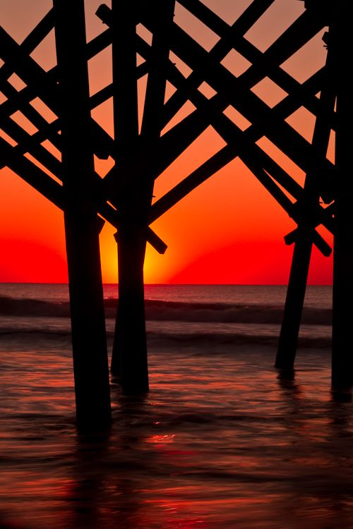 Blocking the Sun by Anne McKinnell,   Folly Beach, Charleston, SC