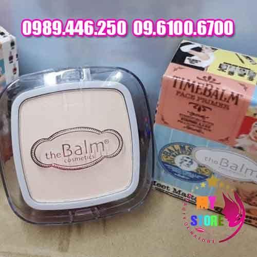 Phấn the balm cosmetics chính hãng nhập khẩu từ mỹ với hiệu quả sử dụng an toàn nhanh chóng cho bạn một làn da trắng đẹp mịn màng hơnXuất xứ sản phẩm: Nhập khẩu từ mỹKhối lượng sản phẩm : Net 18gCông dụng: Dưỡng da, tạo khối, che phủ khuyết điểm, chăm sóc làn da