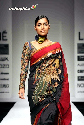 india fashion week sarees