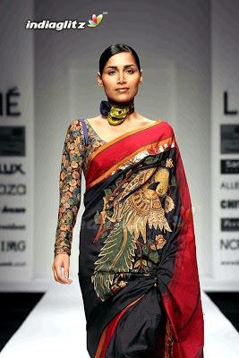 india fashion week sarees