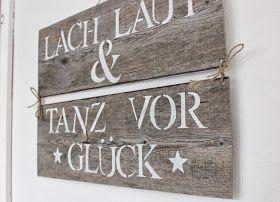 Fräulein Lampe: Schilder DIY