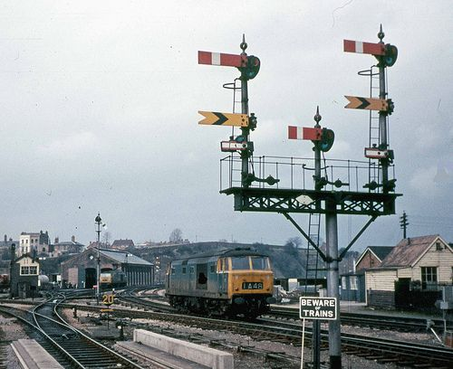 159 best br class 35 39 hymek 39 images on pinterest trains for North end motors worcester ma
