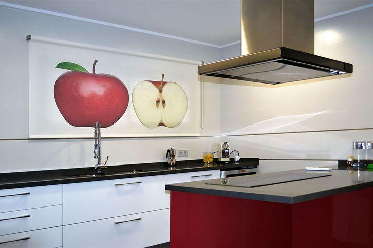 18 best estores enrollables fotogr ficos images on - Estores enrollables cocina ...