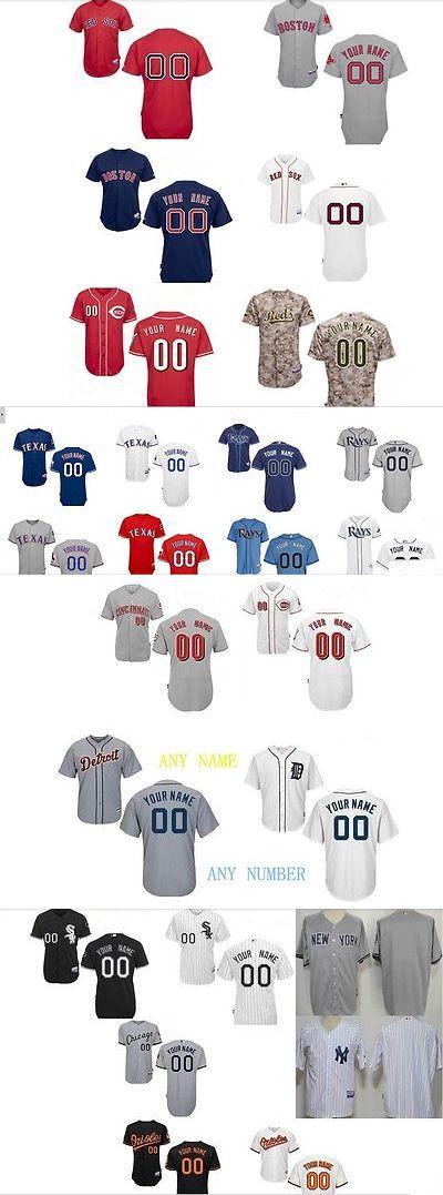 Baseball Shirts and Jerseys 181336: Customized Baseball Jerseys Personalized Embroidered Size S-Xxxl -> BUY IT NOW ONLY: $98.6 on eBay!