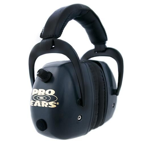 Pro Mag Gold - Noise Reduction Rating 30dB, Black