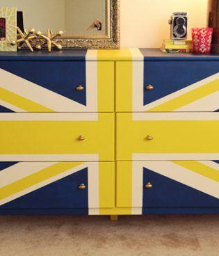 DIY Union Jack Dresser thumbnail