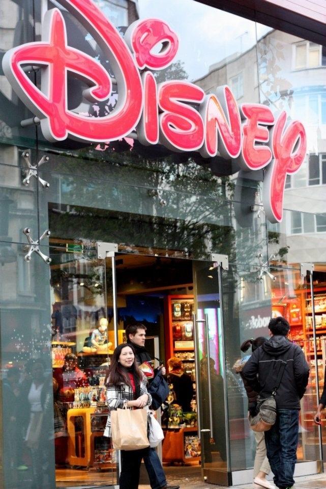 Disney Store, London