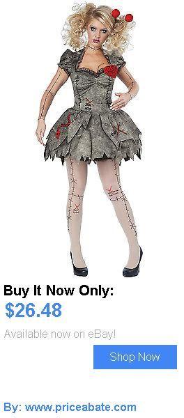 Women Costumes: Brand New Creepy Voodoo Outfit Halloween Rag Doll Costume Adult Women BUY IT NOW ONLY: $26.48 #priceabateWomenCostumes OR #priceabate