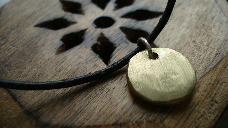 "Brass chain ""Circle"""