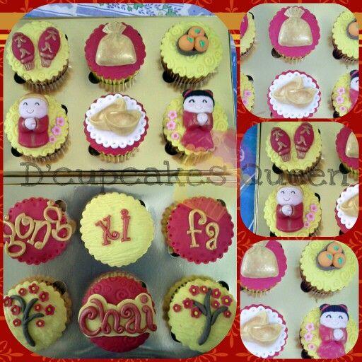 CNY cupcakes