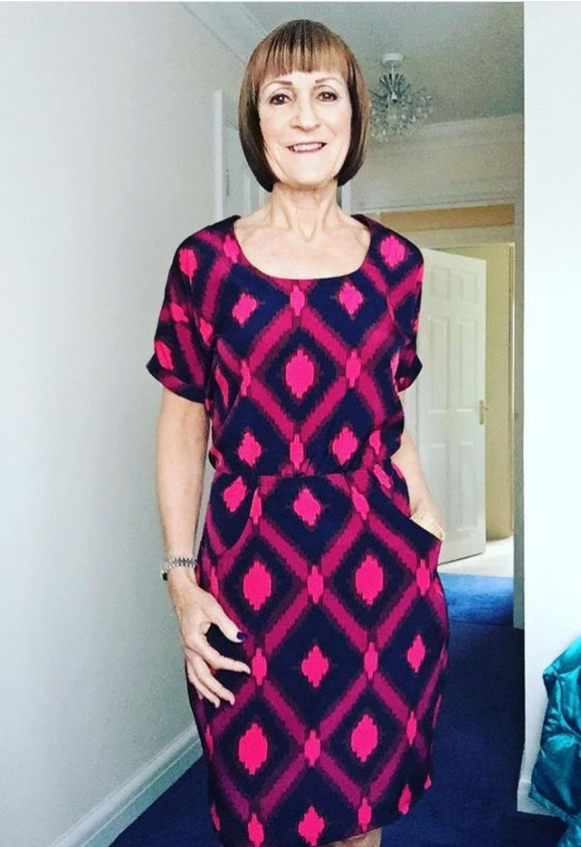 Su's Bettine dress - sewing pattern from Tilly and the Buttons