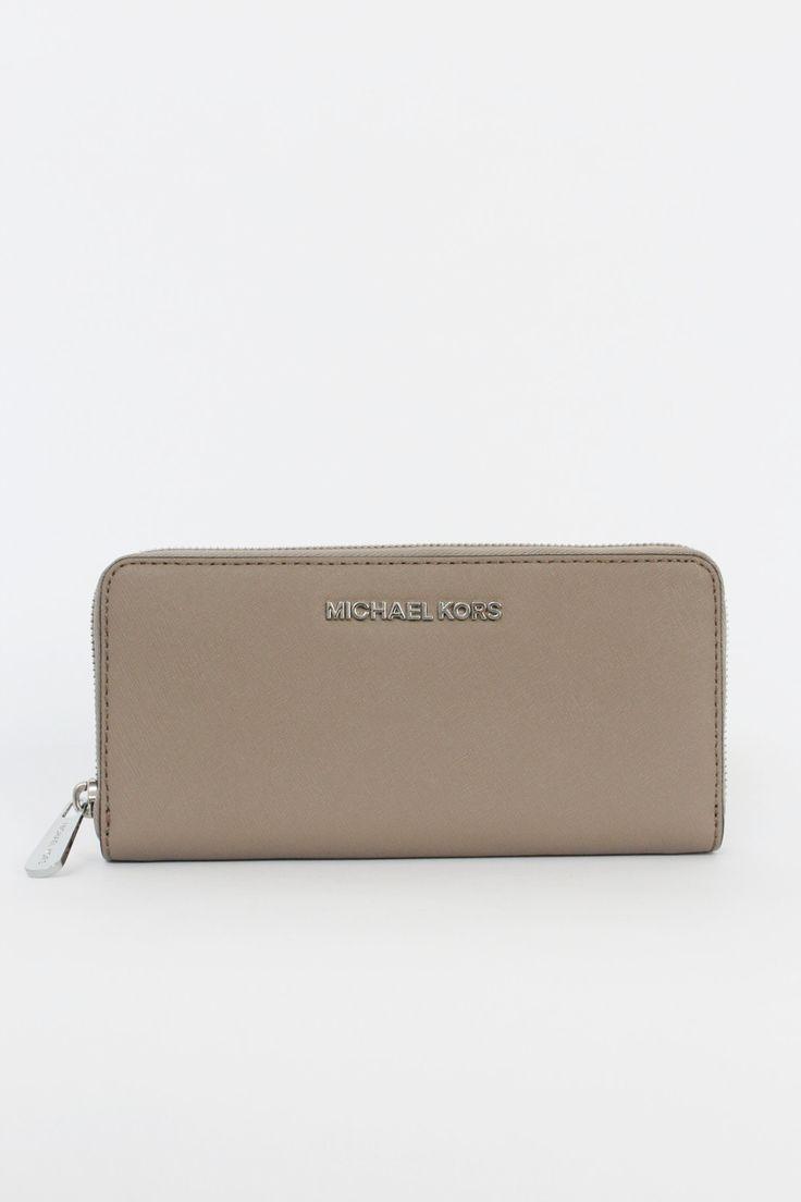 072bae7cdc52 Buy michael kors wallet gray   OFF63% Discounted