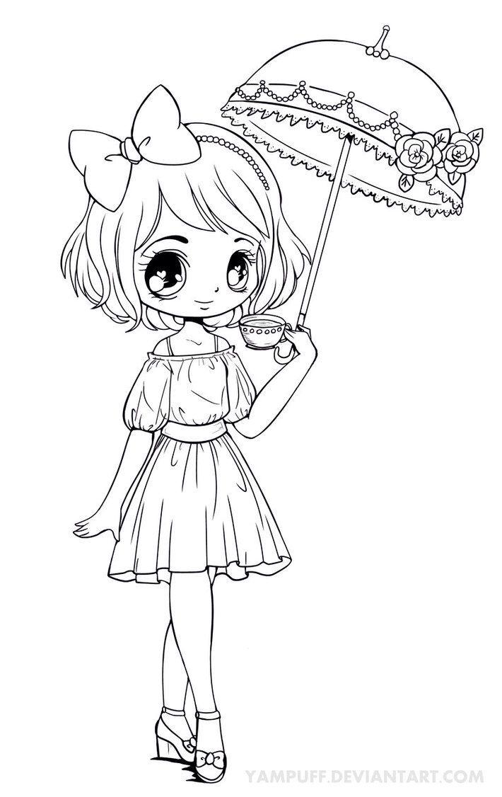 Atemberaubend Chibi Anime Mädchen Malvorlagen Fotos - Entry Level ...