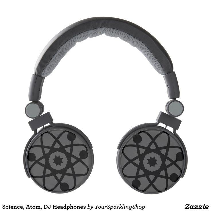 Science, Atom, DJ Headphones