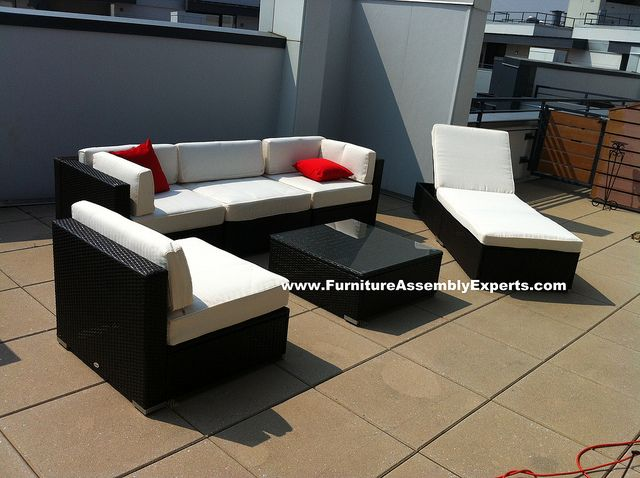 Beautiful Sams Club Patio Lounge Chairs Assembled At Allegro Apartments In  Washington DC By Furniture Assembly