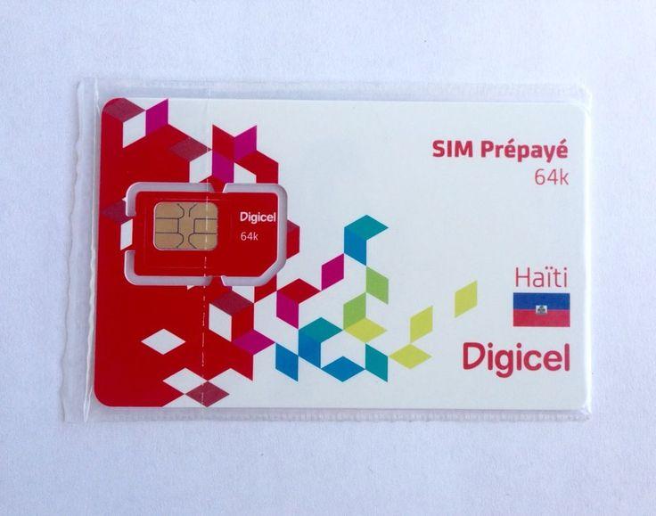 Digicel Haiti Sim Dual Sim Cut | eBay
