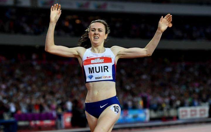 Laura Muir wins in London